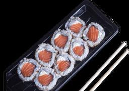 Uramaki salmão - 8 unidades