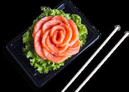 Porção sashimi de salmão - 8 unidades