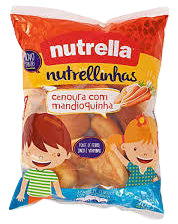 Bisnaguinha Nutrella Cenoura Com Mandioquinha 300 g
