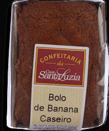 Bolo Simples De Banana Caseiro Individual 90g