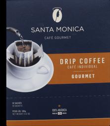 Cafe Gourmet Filtrado Santa Monica 10 Saches