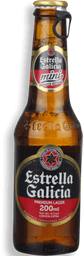 Cerveja Premium Lager Estrella Galicia 200mL