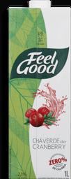 Chá Verde Com Cranberry Feel Good 1 Litro