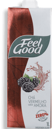 Chá Vermelho Com Amora Feel Good 1 Litro