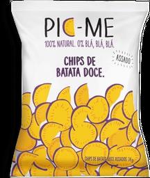 Chips Batata Doce Assado Pic-Me 34 g