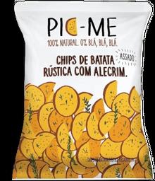 Chips Batata Rustica Alecrim Pic-Me 34 g