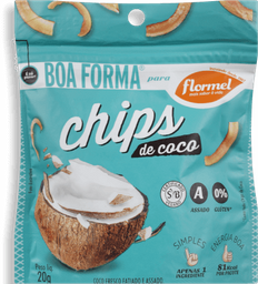Chips Coco Flormel 20 g