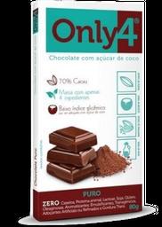 Chocolate Only4 Puro 80g