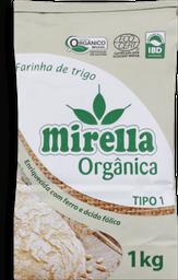 Farinha Trigo Organico Tipo1 Mirella 1 Kg