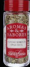 Funcho Santa Luzia Erva Doce Semente Vidro 38g