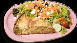 Torta de Brócolis Cremoso na Massa integral