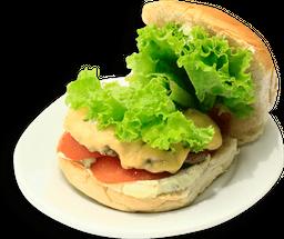 Double salada bacon