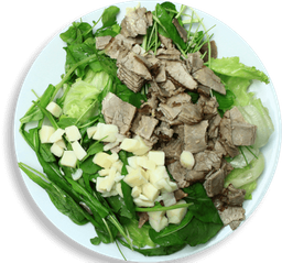 Salada Pupunha