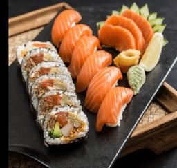 Salmon Dinner Bento