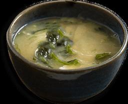 Missoshiru Com Tofu E Wakame