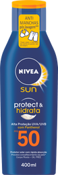 Protetor Solar NIVEA SUN Protect & Hidrata FPS50 400ml