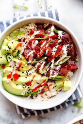 Poke spicy tuna