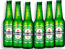 Cerveja Six Pack HEINEKEN Long Neck 330ml