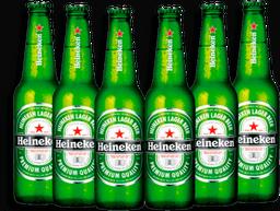 Cerveja Six Pack HEINEKEN Long Neck 330ml f1abab84c5
