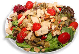 Salada Legumes Grelhados