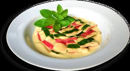 Ravioli de Pera, Ricota e Gorgonzola