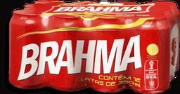 12 x Cerveja Brahma Chopp Lata 350 mL