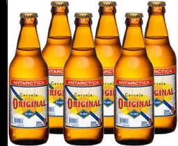 6 x Cerveja ANTARCTICA Original 300ml