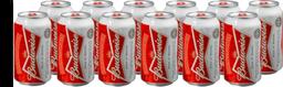 12 x Cerveja BUDWEISER Lata 350ml