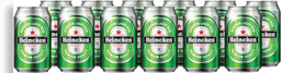 12x Cerveja Heineken Lata 350 mL