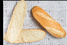 Pão De Baguete Com Manteiga