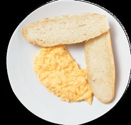 Ovos simples mexidos