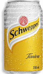 Água tônica Schweppes