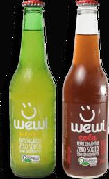 Refrigerantes orgânicos Wewi