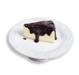 NY Cheesecake com Calda de Blueberry
