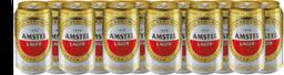 12 x Cerveja AMSTEL Lata 350ml
