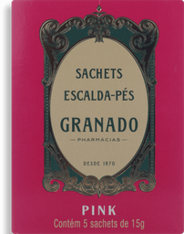 Escalda-Pés Granado Pink Com 5 U