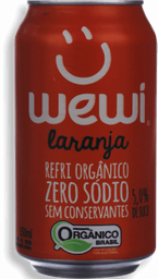 Refrigerante Wewi Laranja Lata 350mL