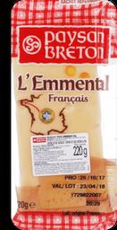 Queijo L' Emmental Paysan Breton 220g