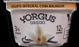 Iogurte Grego 2% Natural Yorgus 130g