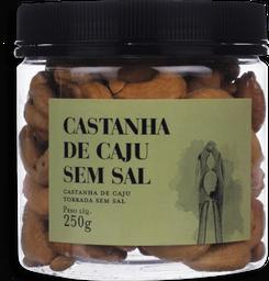 Castanha De Caju Torrada Sem Sal 250g
