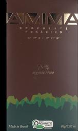 Chocolate 75% Amma 80g
