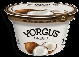 Iogurte Grego Integral Coco Yorgus 130g
