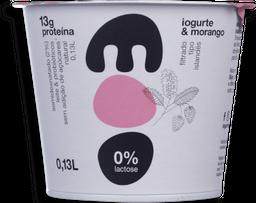 Iogurte Natural Semi Desnatado Morango Moo 130g