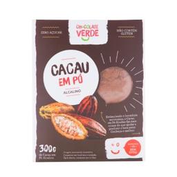 Chocolate Verde Cacau Em Pó