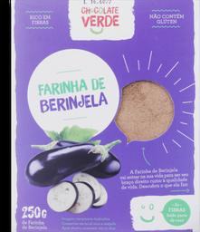 Farinha De Berinjela Chocolate Verde 250g