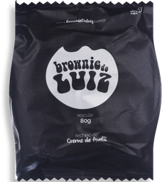Brownie Luiz Individual Nutella 80g