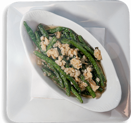 Seared Garlic Green Beans