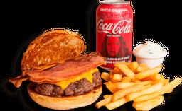 Combo Royal w. Cheese + Bacon