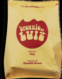 Brownie Do Luiz Individual Chocolate Branco 80 g