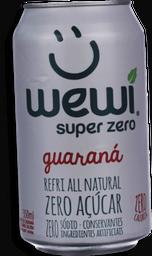 Refrigerante Wewi Orgânico Guaraná Zero 350mL